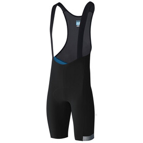 Shimano Evolve Bib Shorts Heren, black